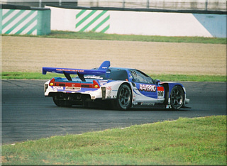 GT500 WINNER  No.100 RAYBRIG NSX